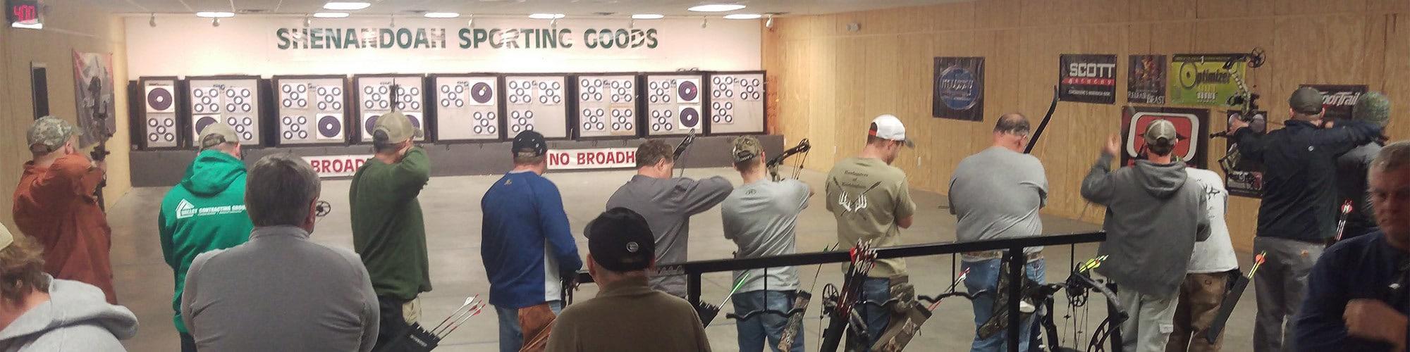 Virginia indoor archery range